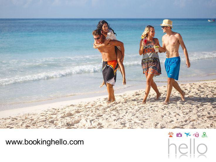 EL MEJOR ALL INCLUSIVE AL CARIBE. En Booking Hello encontrarás las mejores opciones, para disfrutar las vacaciones con tus amigos en las playas más hermosas del Caribe. Te invitamos a visitar nuestra página en internet www.bookinghello.com, para conocer todas las opciones all inclusive que podrás disfrutar con alojamiento 5 estrellas. Además, al utilizar el código HCARIBE podrás adquirir tu pack a un precio especial. #bookinghello