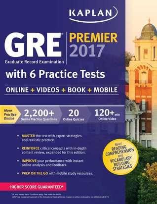 14 best gre test prep grad school admissions images on pinterest gre premier 2017 with 6 practice tests online book videos mobile kaplan test prep fandeluxe Images