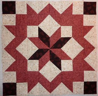 Kathy's Quilts: Chocolate Covered Strawberries Block 9