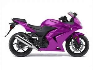 Purple Ninja Motorcycle it will happen...In PINK