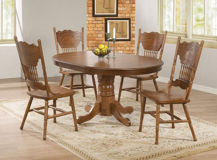 Best 25 Oak Dining Room Set Ideas On Pinterest  Oak Dining Room Classy Dining Room Chairs Oak Review