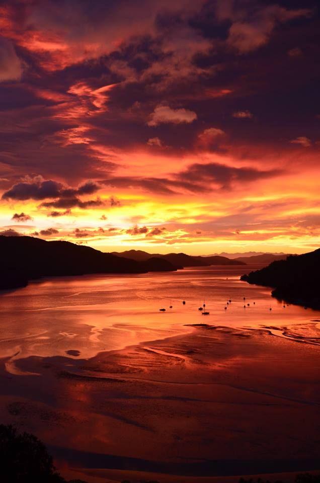 Sunrise - Marlborough Sounds