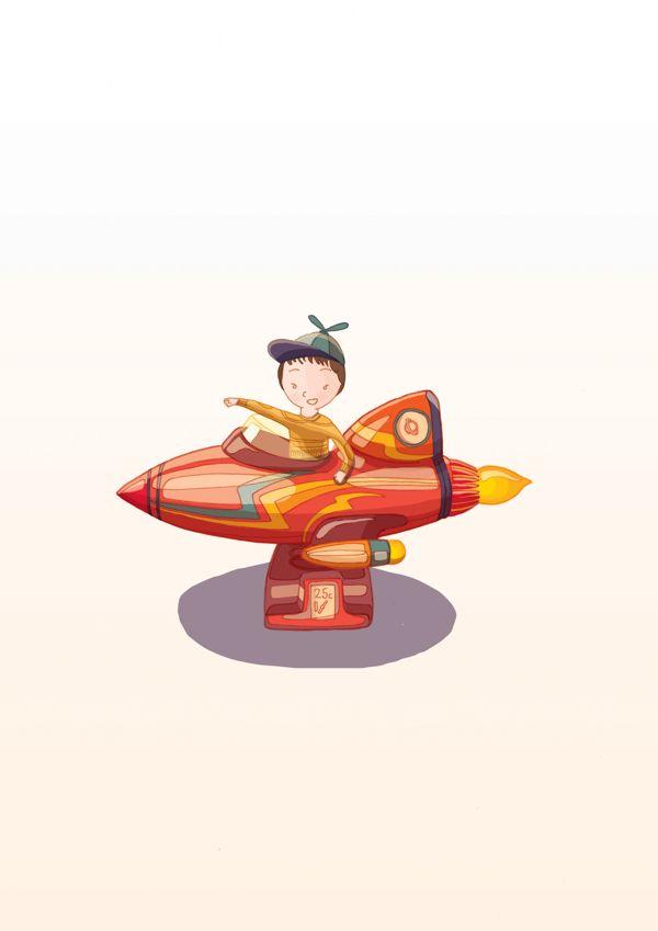 Arcade Kid - Play by DRIEHOEK. Illustrated by Megan Bird