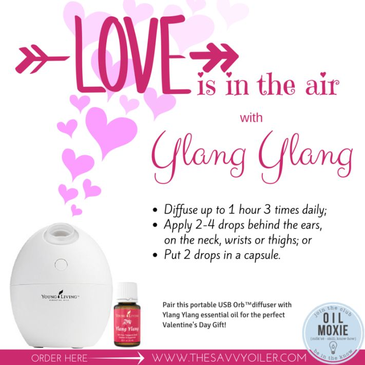 Young Living Essential Oils Ylang Ylang Valentine S Day