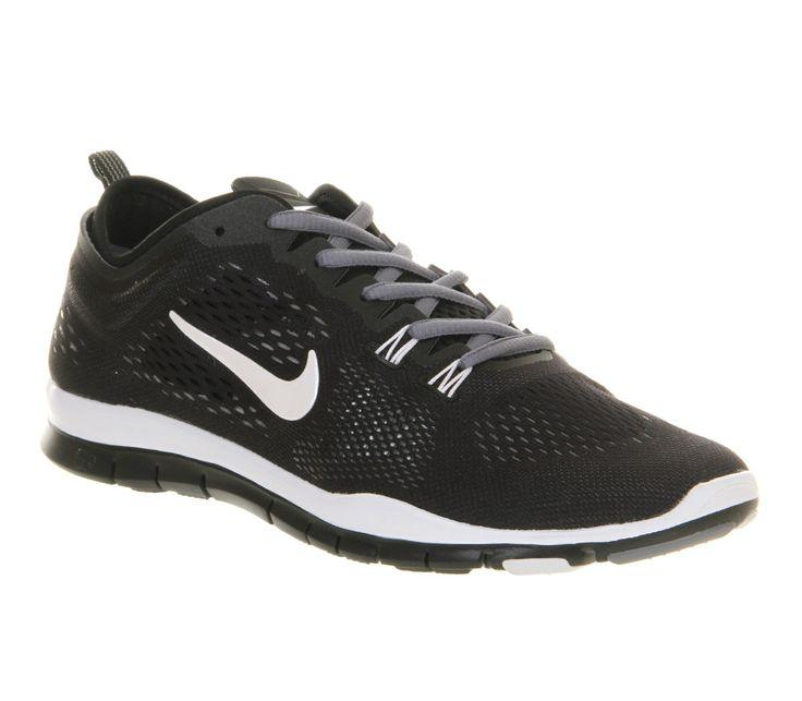 Nike Free Tr Fit 4 Black White Cool Grey - Unisex Sports