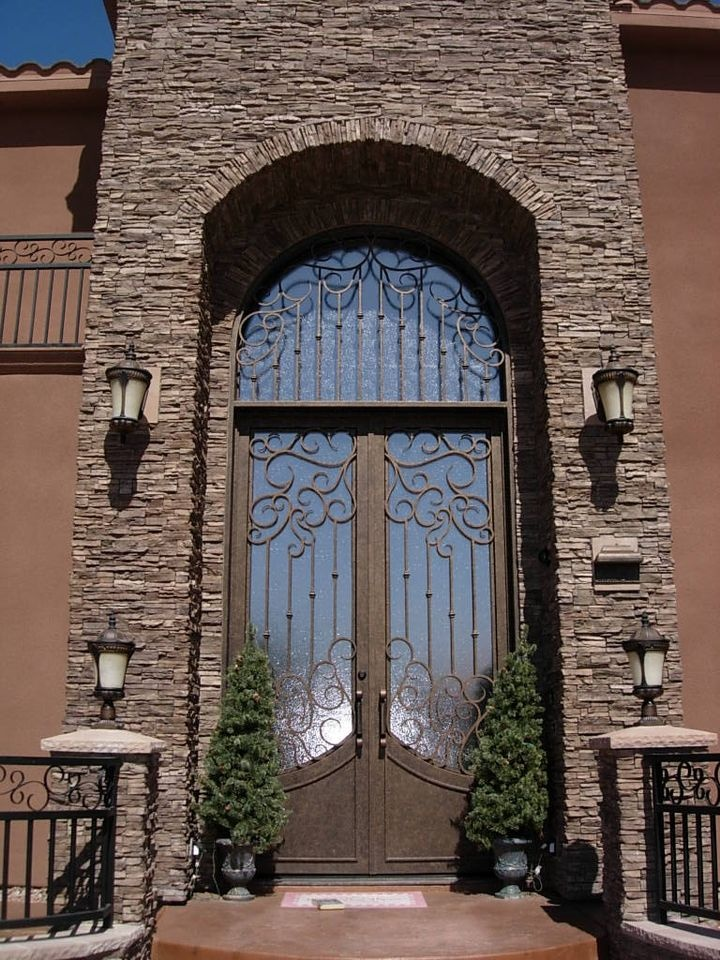 165 best images about mediterranean doors on pinterest for Mediterranean style entry doors