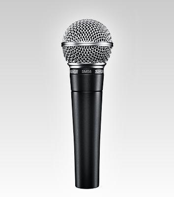 Shure SM58, por algo es el standard de la música en vivo.