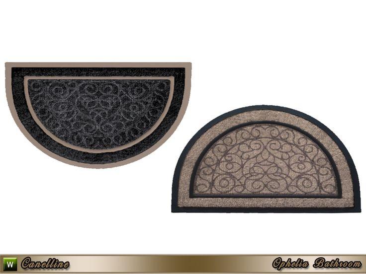 ophelia bathroom rug
