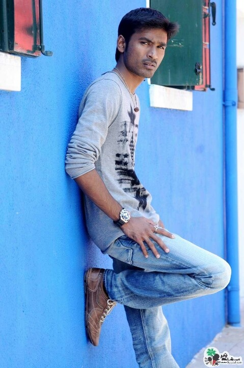Stylish Dhanush in blue jeans
