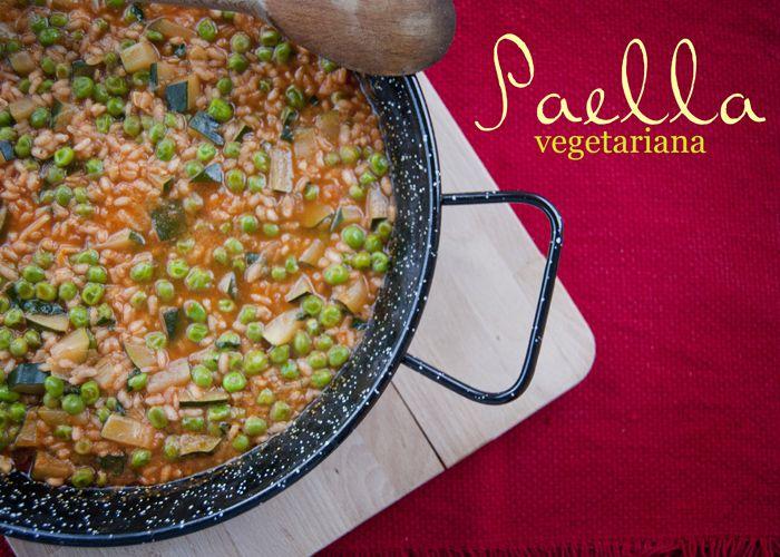 Paella vegetariana: il classico spagnolo, reinventato | L'idea Pellegrina foodblog