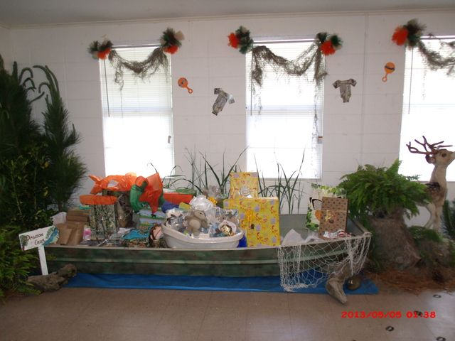 "Photo 1 of 19: Hunting/Camouflage / Baby Shower/Sip & See ""Heidi's baby shower"" 