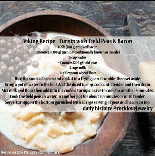 Best 25 midevil recipes ideas on pinterest renaissance food viking recipe turnip with field peas bacon forumfinder Image collections