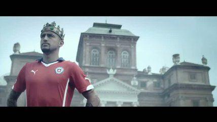 """Video muestra la esperanza de los hinchas en el """"rey Arturo"""" #ReyArturo #ArturoVidal #Brasil2014 #VamosChile"""