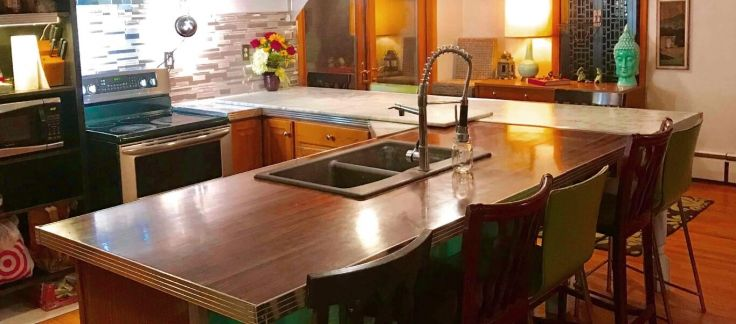 Aluminum Countertop Edging Trim Retro Kitchen Kitchen Design