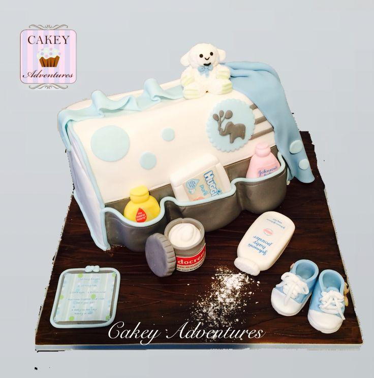 Baby diaper/changing bag cake x