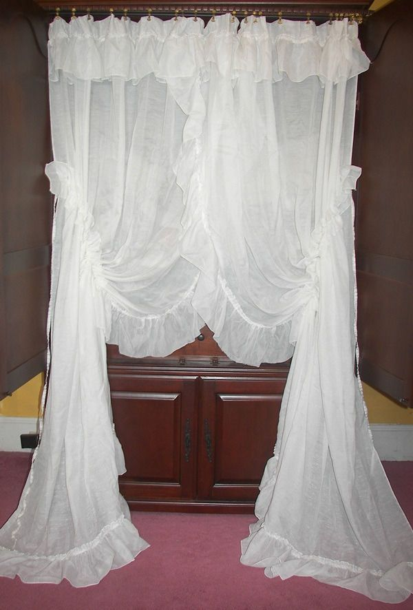 Ultra Romantic Priscilla Curtains They Dont Make Them Like This Anymore Stunning