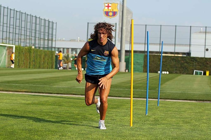 Carles Puyol returns to action for FC Barcelona! The captain has been given the all-clear after 2 months injured