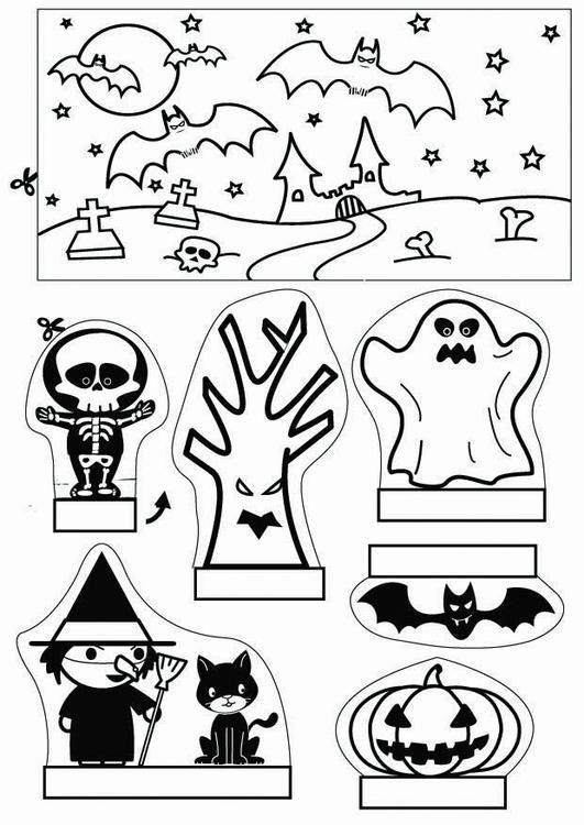 kijkdoos Halloween x knutselen 26780. Knutselen voor kinderen. De mooiste Knutselwerkjes voor op school en in het onderwijs.
