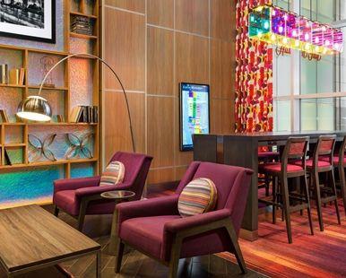 Hampton Inn Manhattan/Times Square Central Hotel, NY - Beautiful, Social Lobby