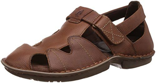Hush Puppies Men's New Decent Oily Leather Athletic & Outdoor Sandals - http://pickeyshop.com/2017/09/25/hush-puppies-mens-new-decent-oily-leather-athletic-outdoor-sandals/