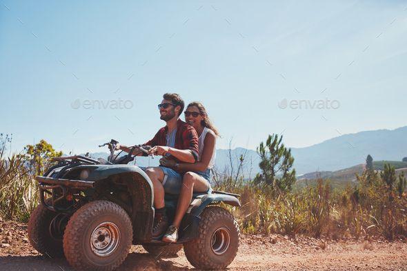Couple Riding On A Quad Bike Quad Bike Couple Quad Bike