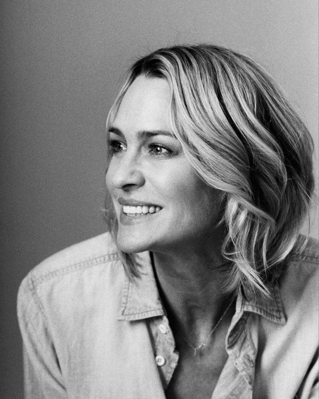 Robin Wright by Patrick Fraser for The Observer // 2017