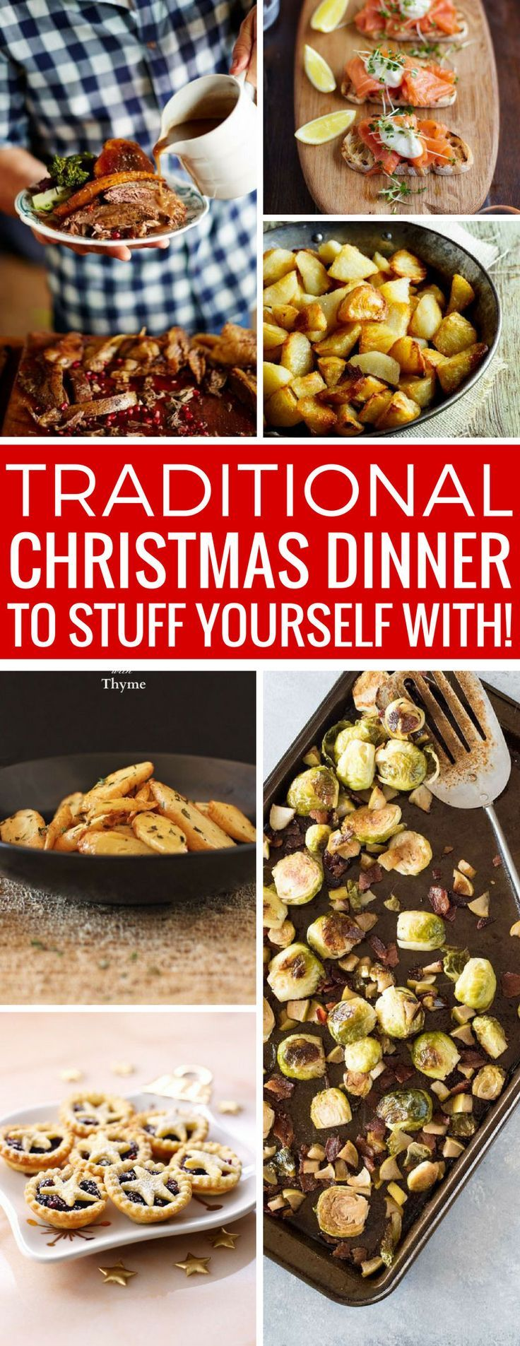 Oh boy - this traditional Christmas dinner menu looks amazing - and I know we'll all be in a food coma afterwards! Thanks for sharing!