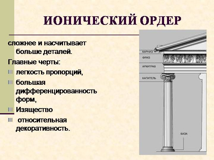 Презентация. Древнегреческая архитектура