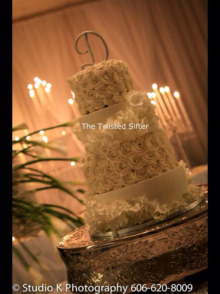 Rosette Wedding Cake - Twisted Sifter Danville