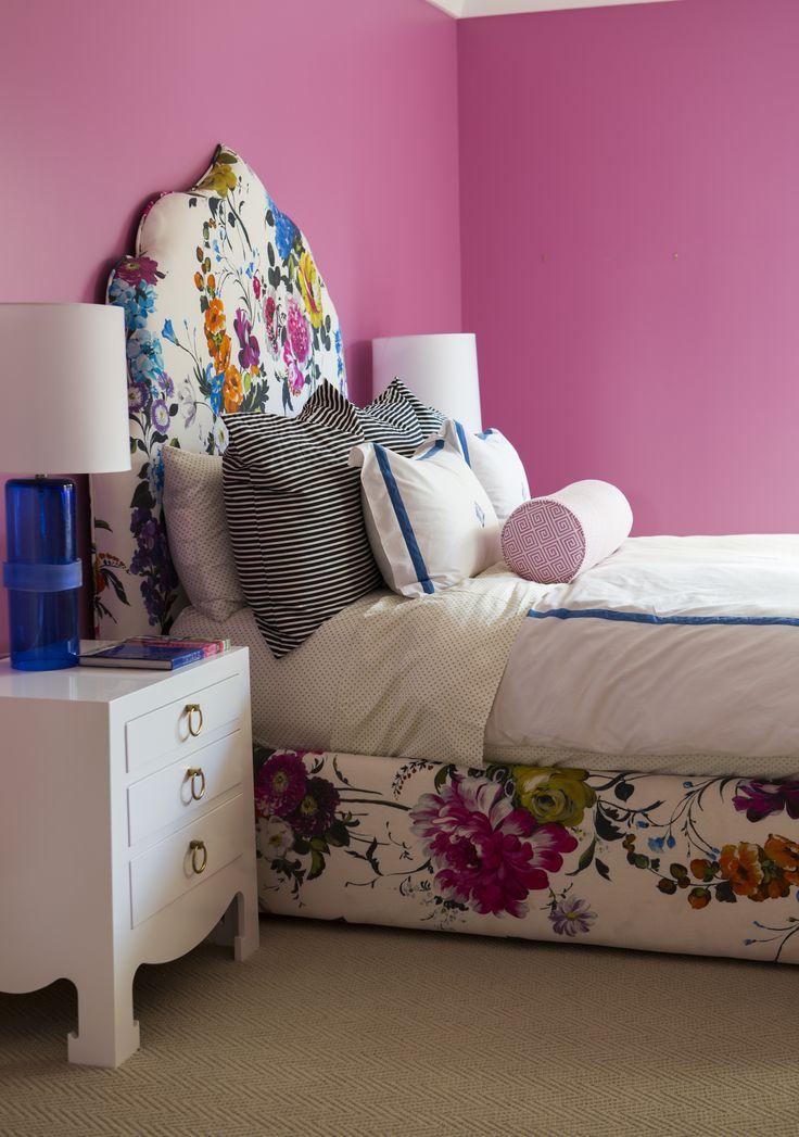 Pink Bedroom By Caitlin Wilson