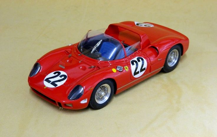 S47 Ferrari 275P Le Mans 64 #22 ritired Baghetti-Maglioli Limited 30 - V12 Sportmodels