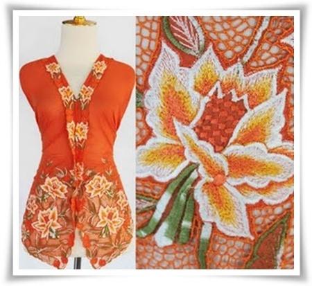 Baju Kebaya Nyonya Oren dari Indonesia, hanya di http://fabulousgirlcollections.blogspot.com/2013/01/koleksi-kebaya-sulam-nyonya-dari.html