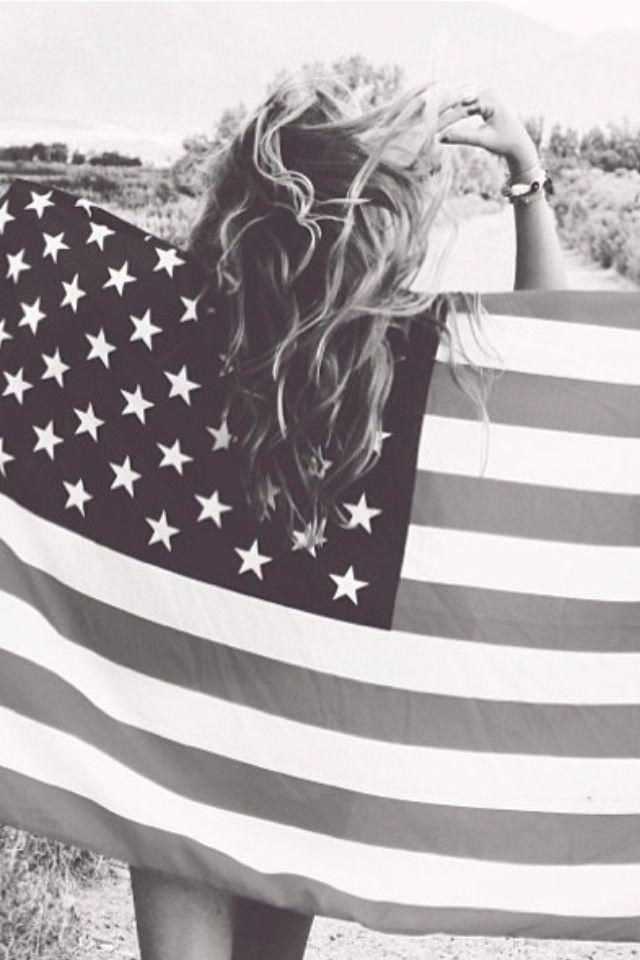 american pride in #blackandwhite