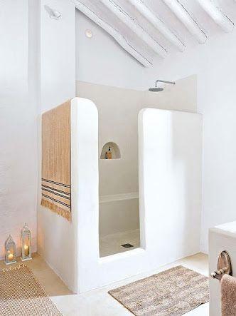 Resultado de imagen para gemauerte dusche ohne tür