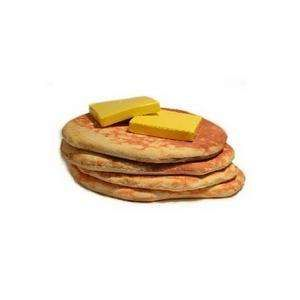 The Todd von Bastiaans Pancake Floor Pillows Look Comfy and Delicious #furniture trendhunter.com