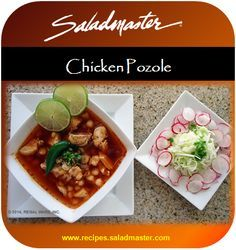 Chicken Pozole  | #GlutenFree #Saladmaster #Recipes #Mexican |  For more, check out www.recipes.saladmaster.com  #316ti #Titanium #StainlessSteel #Cookware #LifetimeWarranty