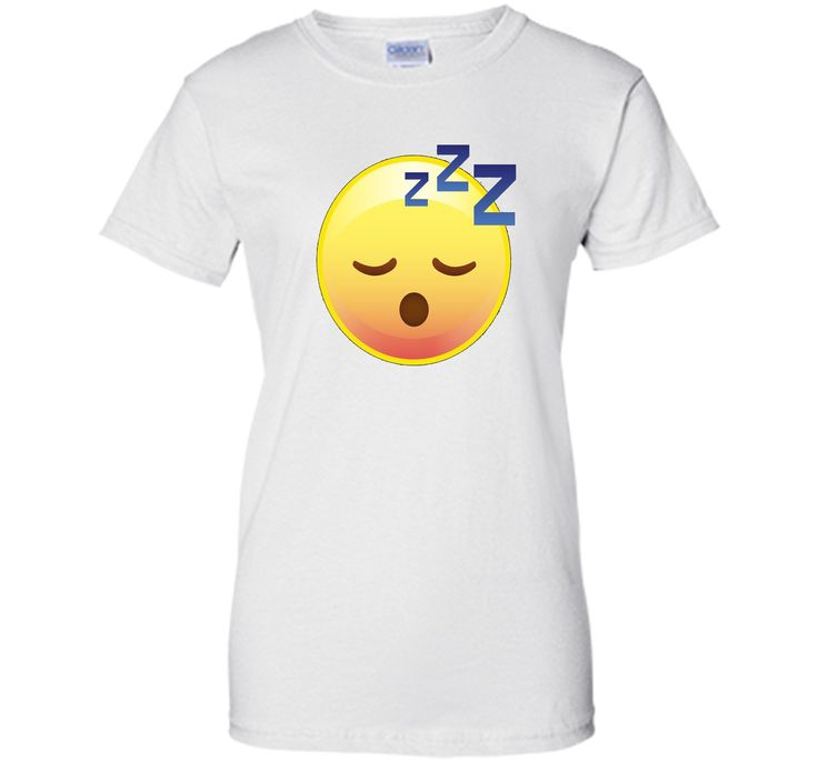 Cute Sleeping Emoji Zzz T-Shirt - Perfect for Pajamas & PJs