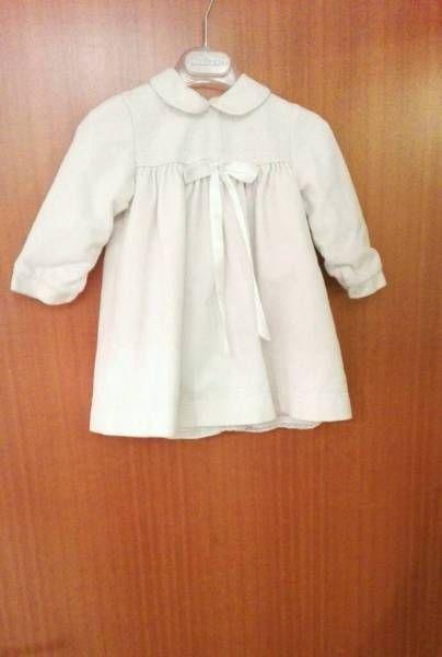 Tolles Kleid aus weißem Samt für Taufe, Weihnachten, Hochzeit, super Zustand<br />Sehr süß und...,Festliches Kleid 80 weiß Weihnachten Hochzeit Taufe Tauf-Kleid in Bayern - Weilheim i.OB