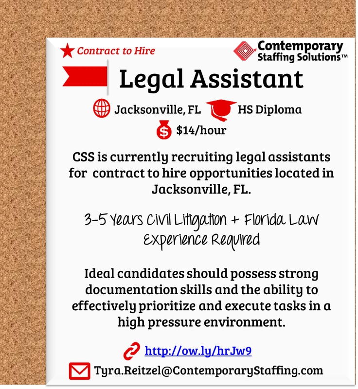 163 best CSS Job Openings! images on Pinterest Fun stuff, The - resume for legal assistant