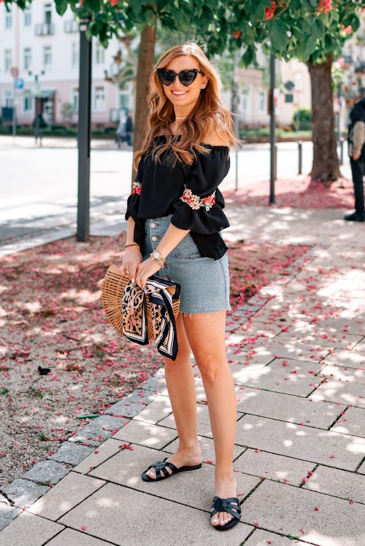 Sommer Look Outfitinspiration  – Fashionblogger Fashionstylebyjohanna / Mode ; Trends  ; Beauty ; Hairstyle Inspirationen