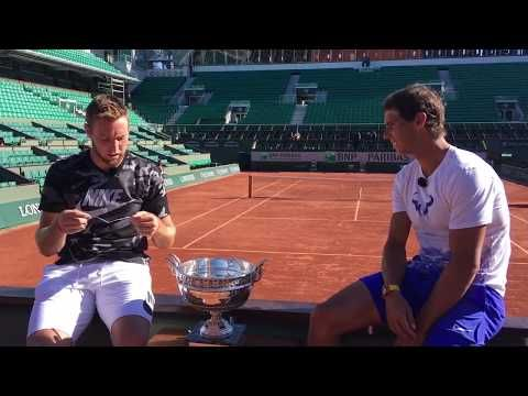 As part of a Babolat promotion, Rafael Nadal and Jack Sock sit down for an interview with each otherin Paris.Get answers to all your questions.