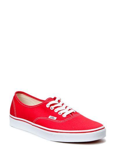 Vi har VANS Authentic (Red) i lager på Boozt.com, för enbart 486.75 kr. Senaste kollektionen från VANS. Shoppa tryggt & säkert, snabb leverans.