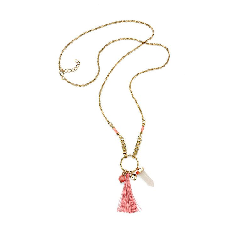 Thornless Rose Necklace