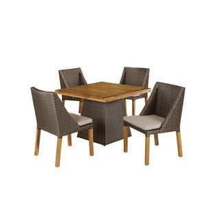 Decorative Modern Outdoor Dining Set Overstock Shopping Big Discounts On Crafted Home Dining Sets