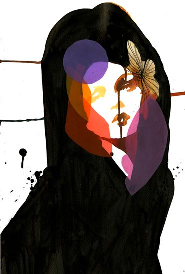 stina perrson cut paper illustration