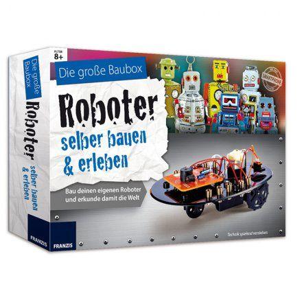 Franzis Bauset Roboter selber bauen und erleben online kaufen ➜ Bestellen Sie Bauset Roboter selber bauen und erleben für nur 49,95€ im design3000.de Online Shop - versandkostenfreie Lieferung ab €!