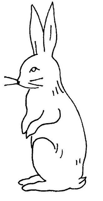 love the vintage rabbit embroidery pattern.