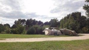 Traumplätze zum Zelten. Direkt am Plauer See. http://www.zweiseen.de/von-a-z/stellplatz-galerie/