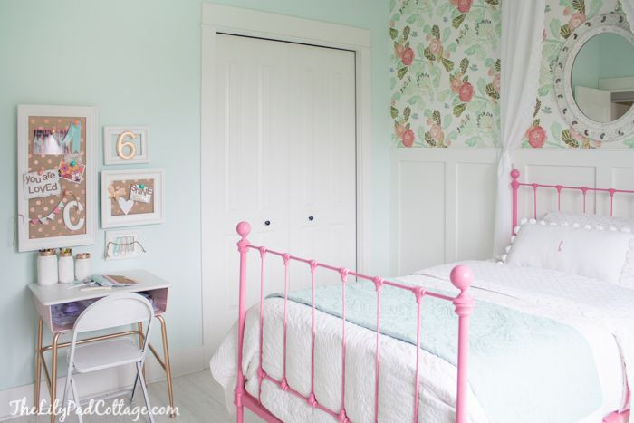 Big Girl Bedroom - Part 2 - The Lilypad Cottage - May 2014.