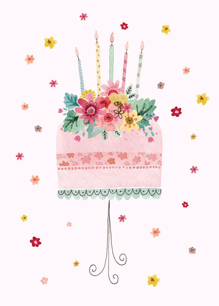 Greeting Cards - Birthday Cards - Felicity French Illustration